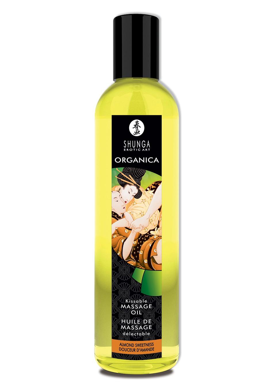 Organica ulei de masaj cu aroma de migdale