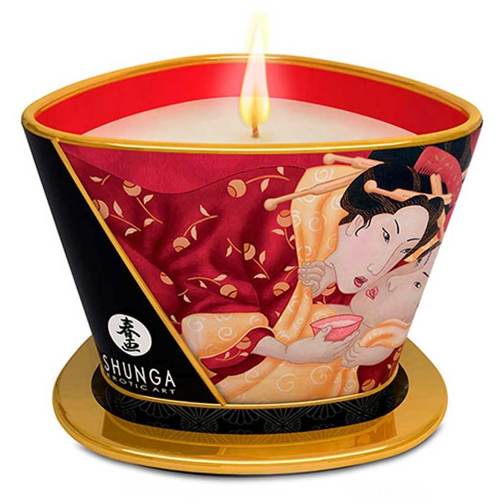 Shunga Candle capsuni