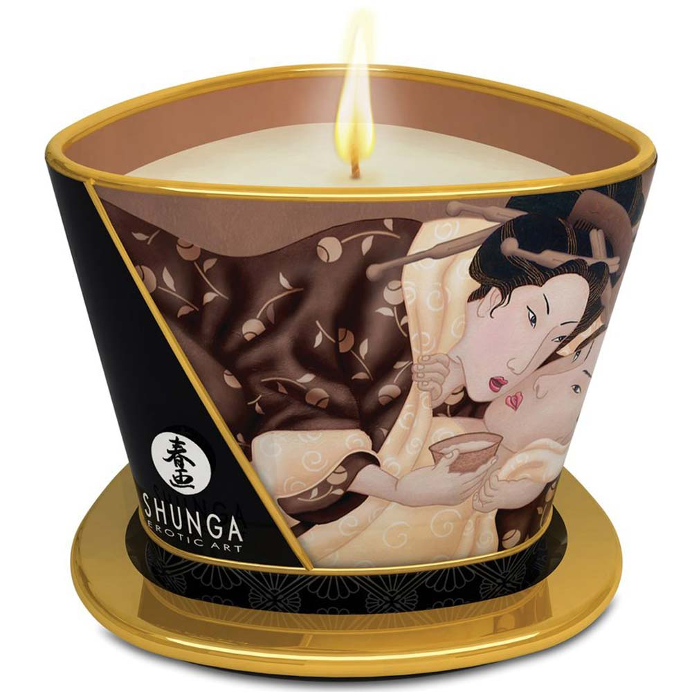 Shunga Candle ciocolata