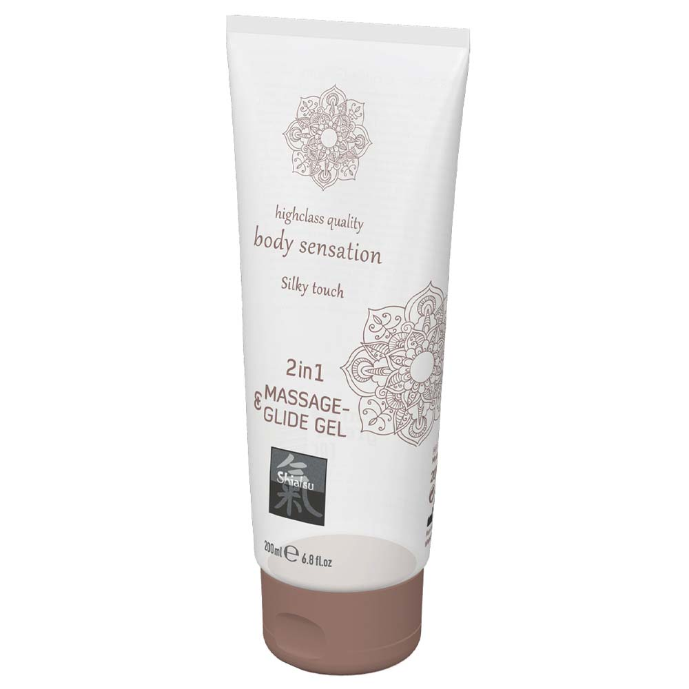 gel de masaj Silky Touch 2 in 1