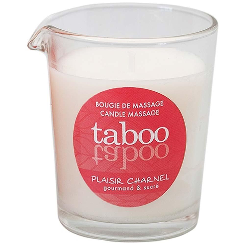 lumanare parfumata pentru masaj Plaisir Charnel Taboo