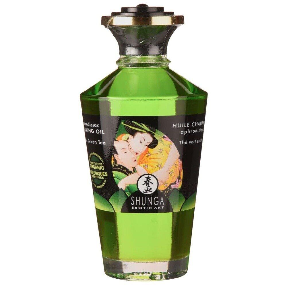 Shunga Aphrodisiac Exotic Green Tea ulei afrodiziac