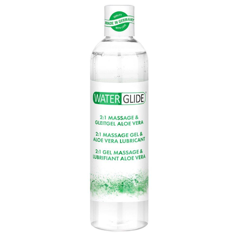Waterglide 2 in 1 lubrifiant si gel de masaj