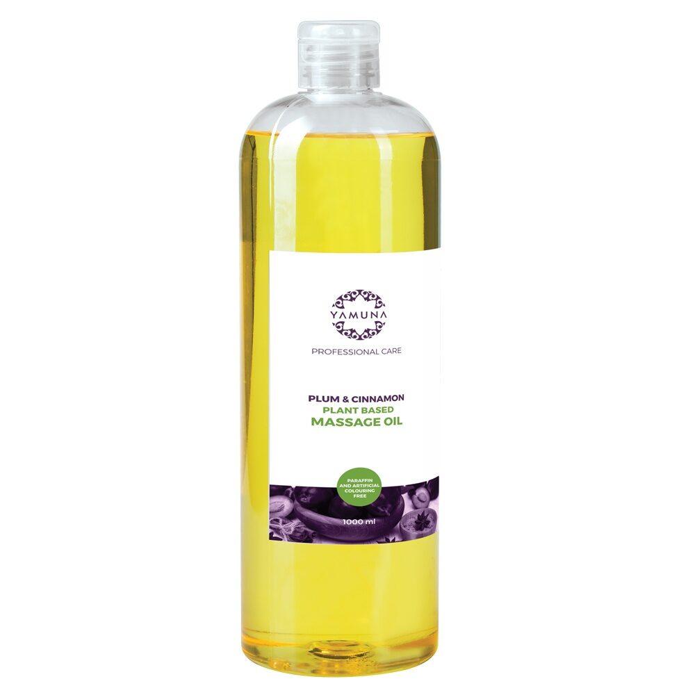 ulei de masaj aromat Yamuna cu prune si scortisoara