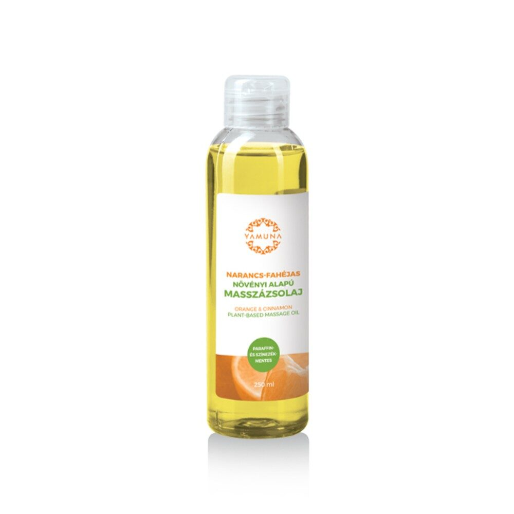 ulei masaj aromat yamuna cu portocale scortisoara